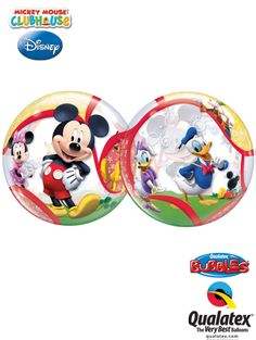 This Disney licensed Bubble Balloon® features Mickey Mouse, Minnie Mouse, Donald, Daisy, and Pluto! Great friends are the most important ingredient to a great party. Disney Balloons, Bubble Balloons, Bubbles, Disney Disney, Great Friends, Balloon Decorations, Pastel Colors, Girl Birthday, Little Ones