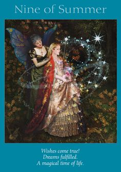 Oracle Card Nine of Summer | Doreen Virtue | official Angel Therapy Web site