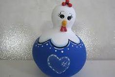 Αποτέλεσμα εικόνας για artesanato com cabaças galinhas