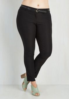 Plus Size Stretch Denim Capri Pants with High Waist | Rainbow ...