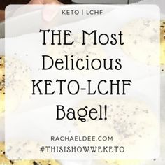 The most delicious keto bagel that is low carb and super easy to make!