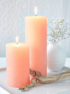 Best Scented Candles for Your Home - Luxury Candles to Give as Gifts Color Durazno, Peach Bathroom, Bathroom Wall, Fragrant Candles, Scented Candles, Perfect Peach, Floral Shower Curtains, Shades Of Peach, Orange Aesthetic
