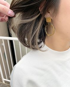Hidden Hair Color, Two Color Hair, Hair Color Streaks, Peekaboo Hair Colors, Lilac Hair, Green Hair, Pastel Hair, Blue Hair, Pastel Pink