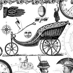 **FREE ViNTaGE DiGiTaL STaMPS**: Free Digital Stamp - Another Steampunk Collage
