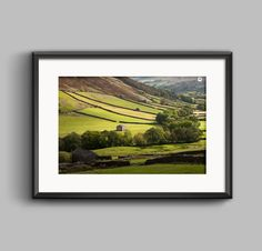 Sweeping Countryside in Swaledale Yorkshire landscape photograph — Manchester, Yorkshire, Lake & Peak District landscape photography shop by Paul Grogan Photography