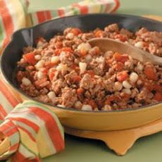 Ground Turkey and Hominy