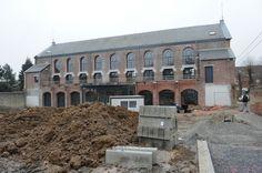 Tir national à Mons #spaque #rehabilitation #remediation #fricheindustrielle #brownfields