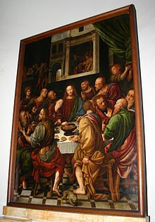 ultima cena, san nazaro, Bernardino Lanino - Wikipedia