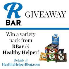 RBar Giveaway • Healthy Helper