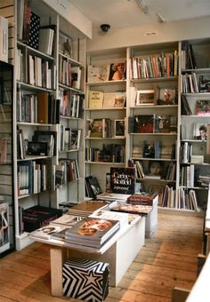 Claire de Rouen Books, 125 Charing Cross Road, London.  Specialist photography and fashion bookshop.