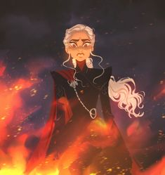 Daenerys Targaryen The Queen of Ashes 🔥 Daenerys Targaryen Aesthetic, Daenerys Targaryen Art, Khaleesi, Deanerys Targaryen, Arte Game Of Thrones, Game Of Thrones Series, Game Of Thrones Personajes, The Mother Of Dragons, Queen Of Dragons
