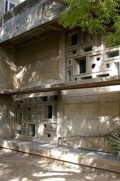 Shodan House - Le Corbusier, 1956 Ahmedabad IN
