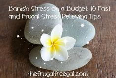 Banish Stress on a Budget: 10 Fast and Frugal Stress Relieving Tips