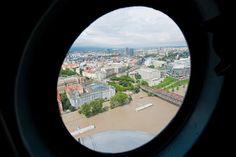 SME.sk | Pozrite si letecké zábery povodní v Bratislave a okolí 2013
