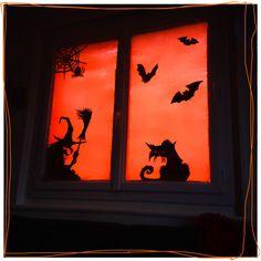la sorci re et son chat tableau silhouette en bois d coup creative pinterest. Black Bedroom Furniture Sets. Home Design Ideas
