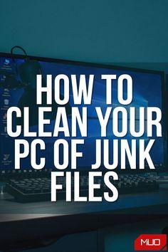 How To Clean Computer, Computer Shortcut Keys, Computer Help, Computer Internet, Computer Tips, Computer Repair, Folder Organization, Office Organization, Tech Hacks