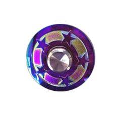 ECUBEE EDC Hand Spinner Zinc Alloy Round Fidget Spinner Finger Focus Reduce Stress Gadget Sale