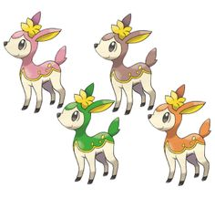 deerling all forms
