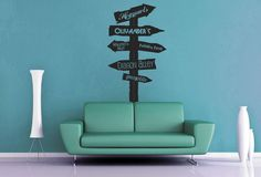 Harry Potter Road Sign Wall Decal by GeekeryMade on DeviantArt