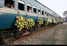Bangladesh Railways - at Santahar, Bangladesh