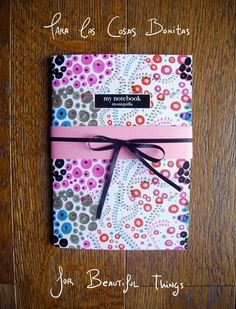 moniquilla_ prints_pattern design: Libretas - Notebook http://masmoniquilla.blogspot.com.es/ http://www.moniquilla.com/