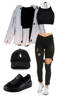 """""""a L L B L a C k a N d a J a C k ........ e T."""" by jladiosa ❤ liked on Polyvore featuring art"""
