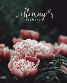 Ellemay Flowers ~ Design Concept #florist #design #logo