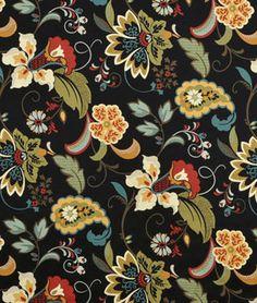 Swavelle / Mill Creek Filomena Volcano Fabric - $24.55 | onlinefabricstore.net