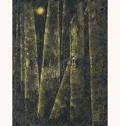 lilithsplace:'Quasimodo Genetis' (The Forest series), 1956 - Max Ernst (1891–1976)