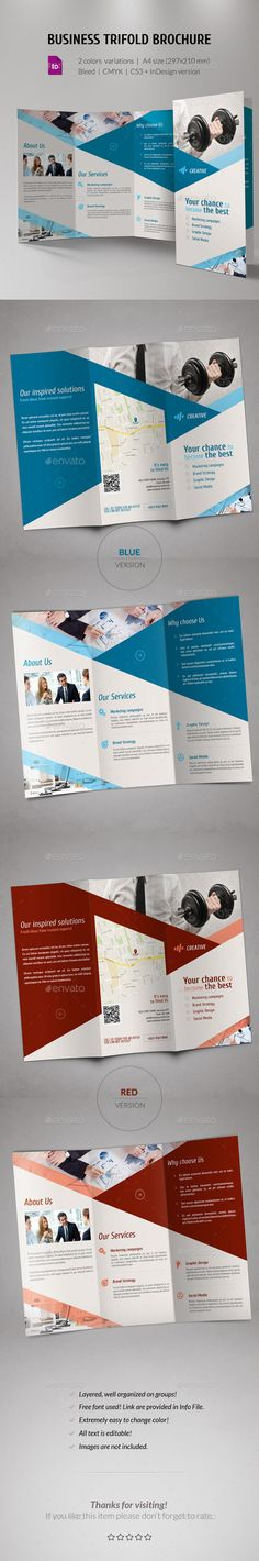 Business Corporate Trifold Brochure #design Download: http://graphicriver.net/item/business-corporate-trifold-brochure-/11440425?ref=ksioks