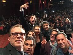 Paul Bettany, Mark Ruffalo, Cobie Smulders, Elizabeth Olsen, Aaron Taylor-Johnson, Jeremy Renner, Robert Downey Jr.