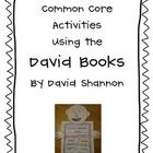 Who doesn't LOVE David from the David Shannon books!!  This packet includes a character trait activity and simple craftivity, a compare and contras...