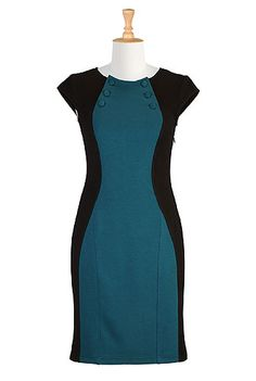 eShakti Twilight city dress - This company is cool because you can change things about the dress like the sleeve type, dress length, and sometimes the neck line