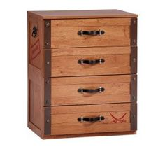 Black Pirate Dresser