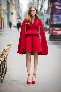 #chiaraferragni #rot #cape #rotkäppchen Foto @ Getty Images