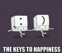 Keys to happiness -- this would be an awesome costume