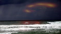 Na Costa Nova, o mar num dia de tempestade