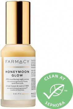 Farmacy - Honeymoon Glow AHA Resurfacing Night Serum with Echinacea GreenEnvy #VaselineBeautyTips