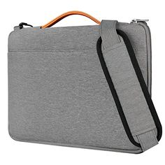 Inateck 13 Inch Laptop Shoulder Bag Spillresistant Laptop Sleeve Case for 13133 Inch Laptop Notebook Ultrabook Gray ** See this great product.