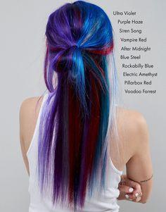 Крем-краска для волос временного действия Manic Panic NYC Classic - Rockabilly Blue