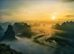 "People say: ""Guilin's scenery is peerless in the world."""