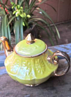 Tea Pot Coffee Pot Chocolate Pot by greenphilosophie on Etsy,