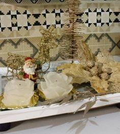 Decoração de de quarto   De♡coração de Natal 2015  Estilo shabby chic com reaproveitamento de materiais by Sandra Dias.Interires