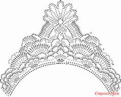 Идеи для НОВОГО ГОДА Вязаные короны