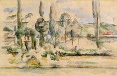 The Athenaeum - The Chateau de Medan (Paul Cézanne - )