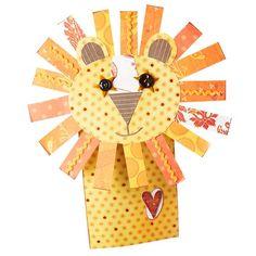 Friendly Lion Puppet
