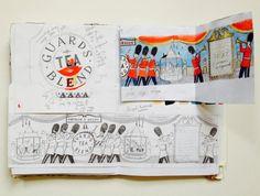Guards' Blend Artist Journal, Graphic Design Illustration, Sketchbooks, Inspire Me, Illustrators, Love Her, Journals, Artists, Inspiration