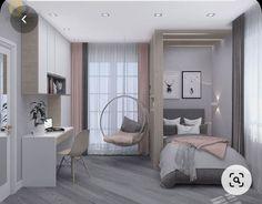Teen Bedroom Designs, Bedroom Decor For Teen Girls, Room Design Bedroom, Small Room Bedroom, Room Ideas Bedroom, Home Room Design, Home Decor Bedroom, Teenage Room Decor, Small Apartment Bedrooms