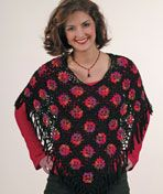 LC1457 Double Take Poncho