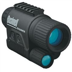 The Bushnell Equinox Night Vision is a compact cost-effective digital night vision monocular designed for outdoor activities, home security, and surveillance in low light. Bushnell Binoculars, Night Vision Monocular, Night Sights, Hunting Scopes, Hunting Gear, 1st Night, Equinox, Tactical Gear, Tactical Equipment